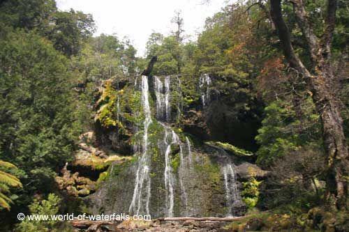 Bridal Veil Falls  Moina District, Tasmania, Australia
