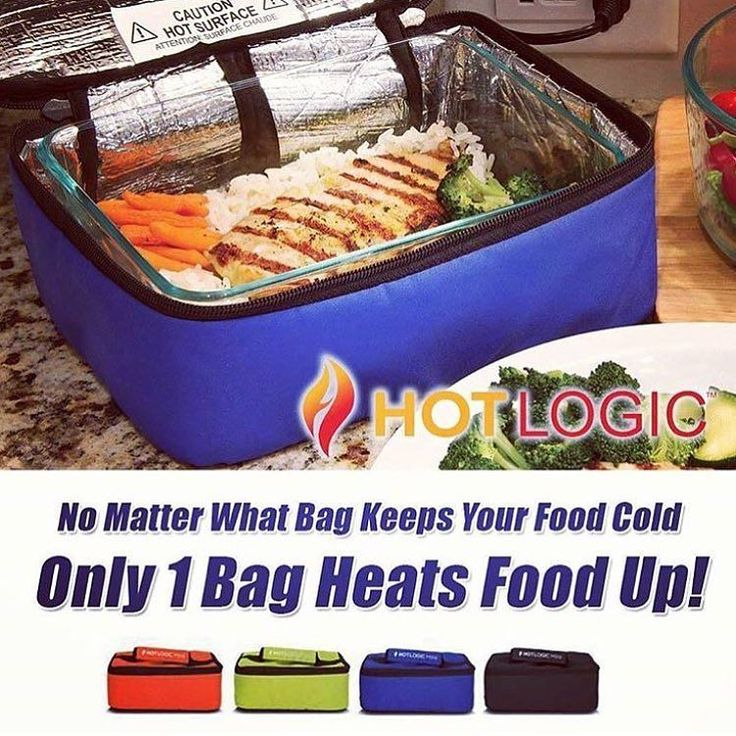 Click the link in our bio above for more info and to purchase! We always get questions about heating up food away from home and the typical go to was a microwave. But what if no microwave is available? We thoroughly tested and now use this awesome portable oven to heat up our meals. Pick one up on our website today! Revolutionizing the hot meal experience! The patented Hot Logic Mini is a personal portable oven great for the office the job site the campsite or anywhere you have an outlet…