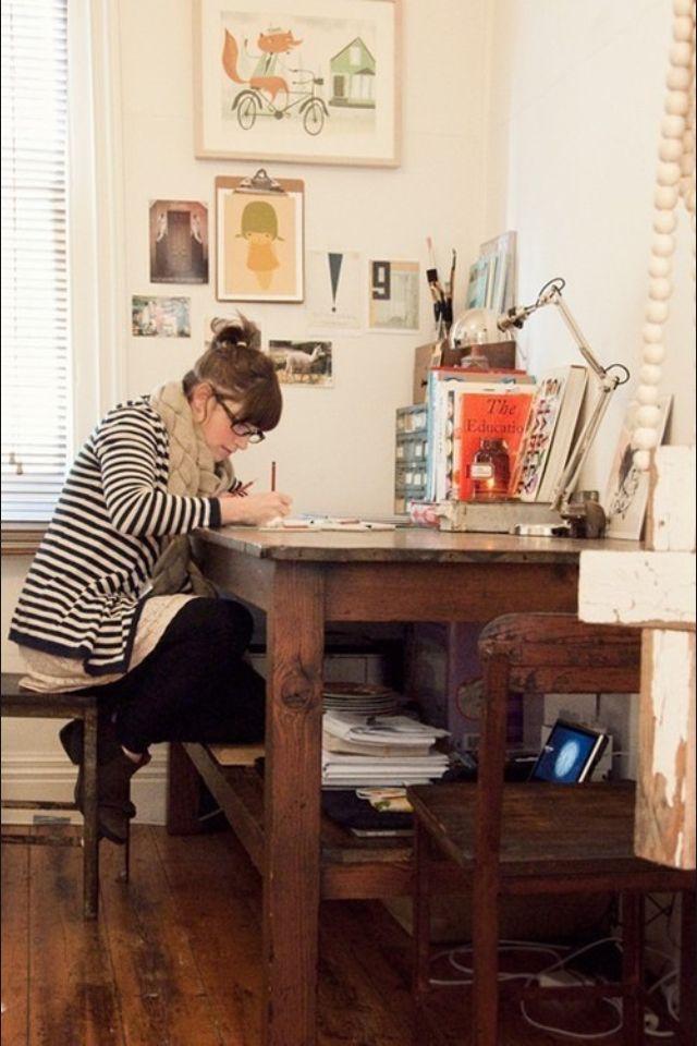 Creative work-space