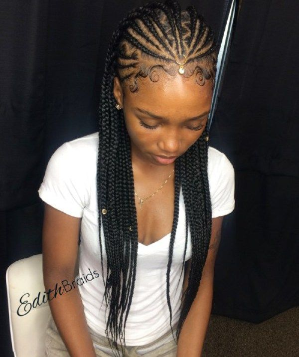 Fulani Braids 2018 Braided Hairstyles You Will Love Fulani Braids Braided Hairstyles Natural Hair Styles