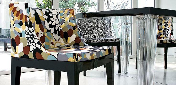 Design stoler Mademoiselle by Kartell, design Philippe Starck