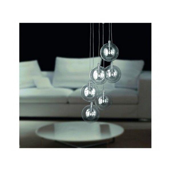BRILLIANT MYSTIQUE 20W PE 6  Med riktig belysning vil det skape et koselig atmosfære hjemme.  Stilig lysekrone I gangen gjør det til et fantastisk interiør.