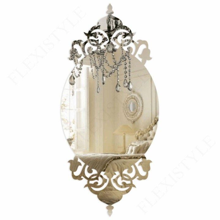 Nowoczesne Lustro Dekoracyjne Akrylowe Glamour 3 5071225885