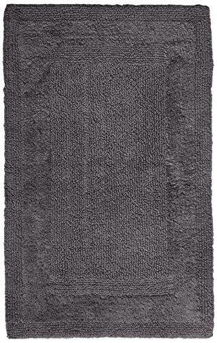 34 Inch Bathroom Vanity: Pinzon Luxury Reversible Cotton Bath Mat