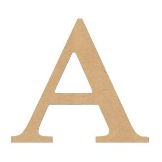 """6"""" LETTER """"ALPHA"""" GREEK FONT GREEK LETTERS """"ALPHA"""" Unfinished Wood/Wooden Letter DIY Home, COLLEGE, SOROITY AND FRATERNITY Decor USA Made * To view further for this item, visit the image link."""