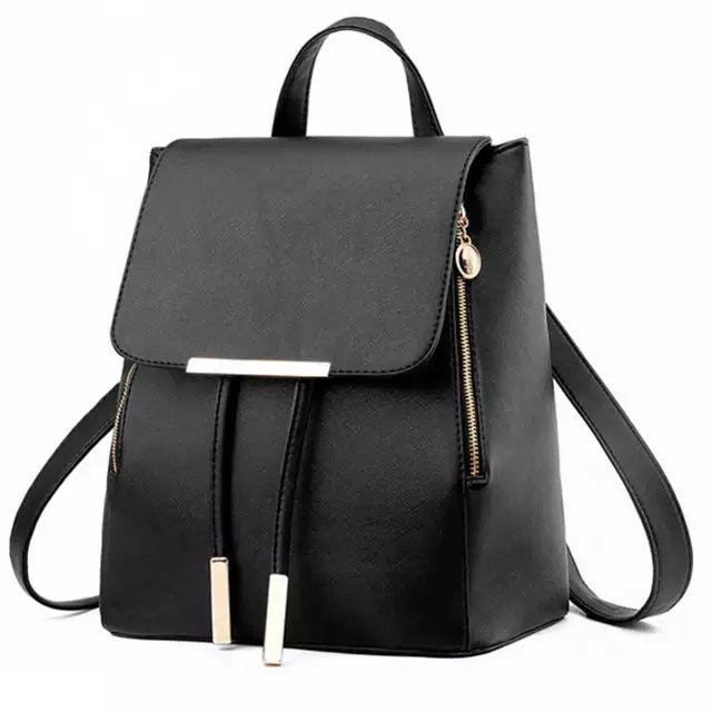 Para Mujer Damas estilo 2 en 1 Mini Bolso para el Hombro Mochila Bolso Con Detalle De Cremallera