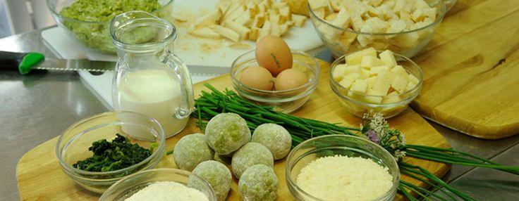 Canederli al formaggio - RistoranteTrentino
