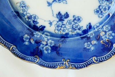 my favorite collectable, flow blue china--all patterns.