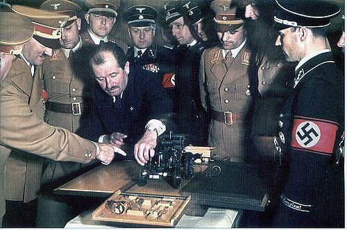 Hitler and Ferdinand Porsche (1) | GLORY. The largest archive of german WWII images | Flickr
