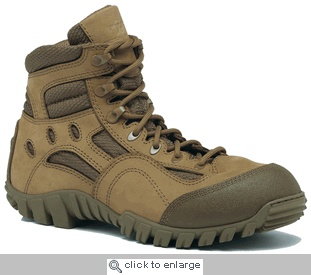 One of the best things to come out of the upswing in tactical gear are some amazing boots. I own two pair from Tactical Research and they rock. This one is now on my list.