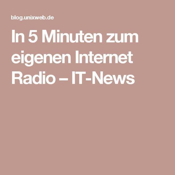 In 5 Minuten zum eigenen Internet Radio – IT-News