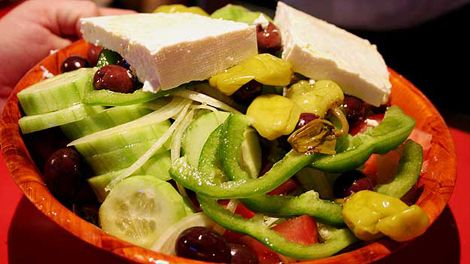 Greek Salad Video Recipe by Master Chef George Calombaris on Food Safari