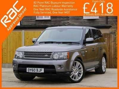 2010 Land Rover Range Rover Sport 3.6 TDV8 HSE Turbo Diesel 269 BHP 4x4 ... - scutt.eu