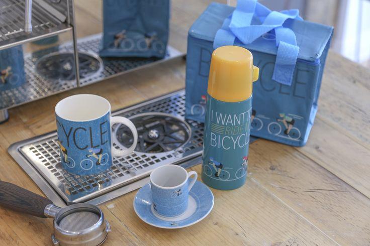 Kolekce I want to ride my bicycle - hrníčky, termo taška a termoska #dekorace #doplnky #kolo #hrnek #bicycle #accessories #giftware #hrnek #IWantToRideMyBicycle #mug #coolbag