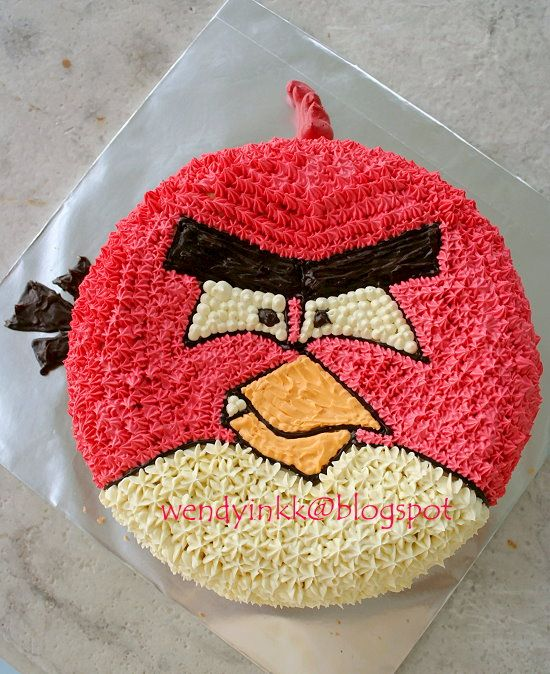 Outstanding Angry Birds Cakes Decoration Ideas Little Birthday Cakes Karas Funny Birthday Cards Online Elaedamsfinfo