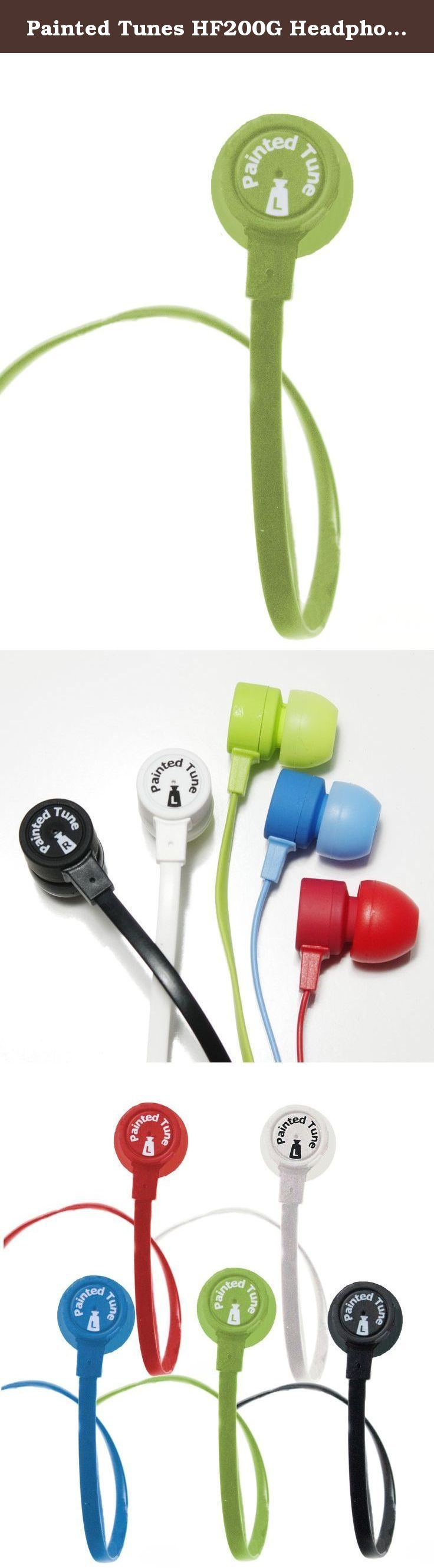 Painted Tunes HF200G Headphone for iPod, iPad, and Tablet (Green). Vibrant Sound in a Cool Package Painted Tunes High-Performance Headphones are an ideal mix of high quality audio, unique design and convenience - all for a reasonable price. Unlike any other pair of ear buds, they come in a fun and convenient paint tube-style package, which serves as a carrying case. The ear buds deliver the kind of rich sound and deep bass you would expect from more expensive headphones, for which you…