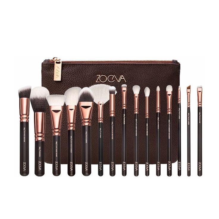 Conjunto de Maquiagem, Conjunto de Pinceis de Maquiagem Conjunto de 15 Pinceis com Estojo. Compre ferramentas e ferramentas de maquiagem on-line na Calitta.