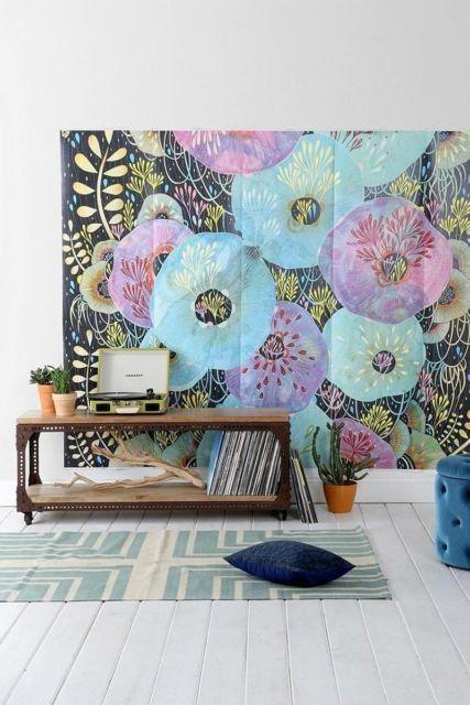 Urban Outfitters Yelena Instill Mural Wallpaper-