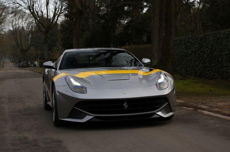 New Tailor-Made Ferrari F12berlinetta Pays Tribute to 250 GTO