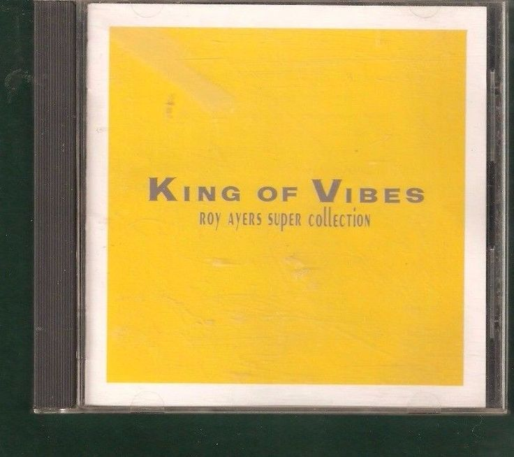 Roy Ayers Super Collection King of Vibes Japanese Import CD