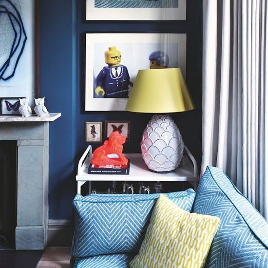 Living Room | Step Inside A Period Style London Home Injected With Splashes  Of Colour