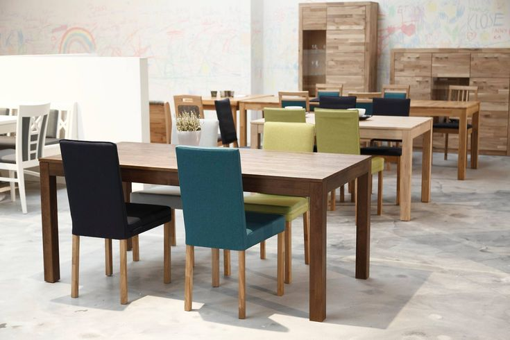 Different combinations of colors  would make a difference  #colourchair #moderndiningroom #woodentable
