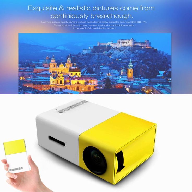 Full HD Projector Home Media LCD Lumi Player Portable Incredibly Bright HDMI USB #UnbrandedGeneric #LCD