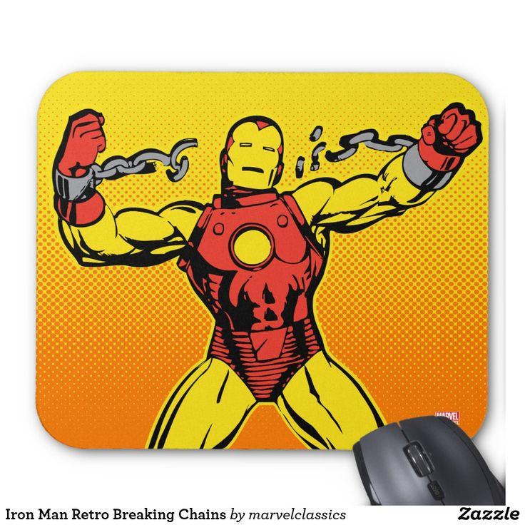 Iron Man Retro Breaking Chains