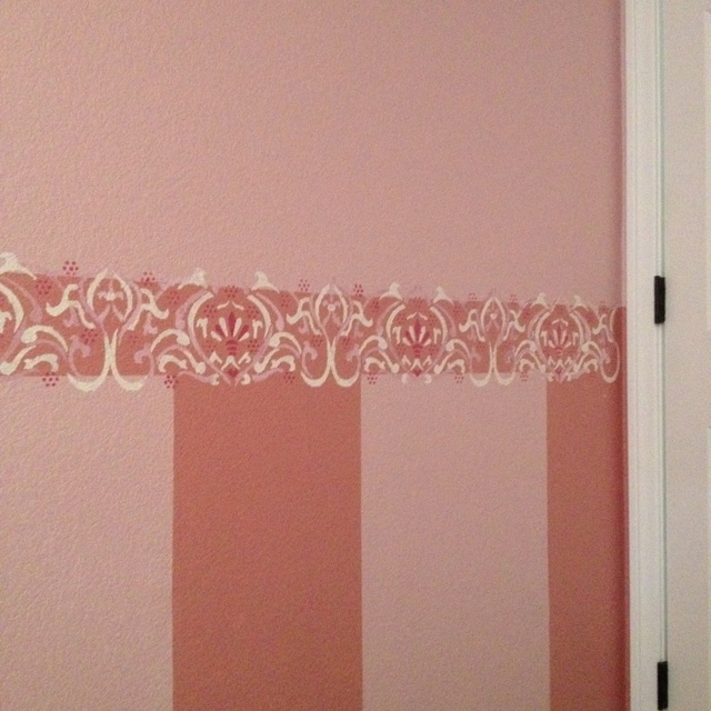 1000 images about borders on pinterest cork wall - Border stencils for painting ...