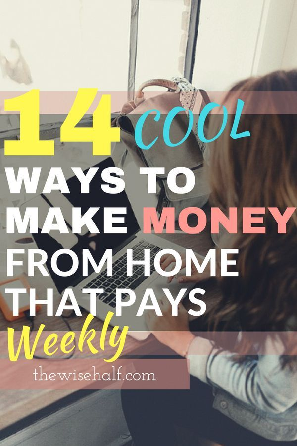 15 Online jobs that pay weekly. Legit websites and money-making apps. – Brenna Moore