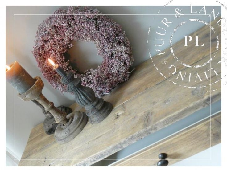 Queen Ann Slaapkamer : NEW NEW landelijke sidetable Old Wood / Riviera ...