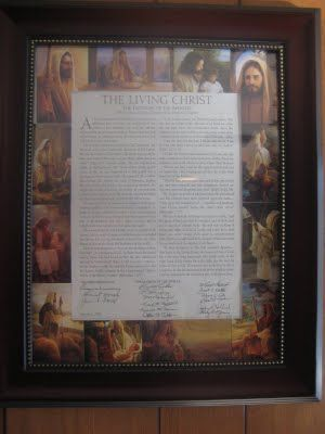 """Make a """"The Living Christ"""" picture collage for FHE"""