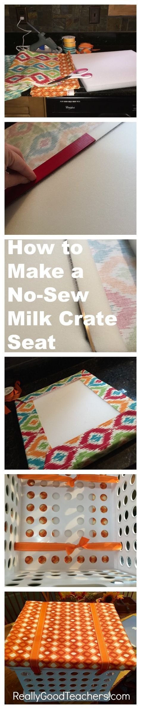 The Making of a Milk Crate Seat
