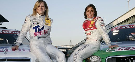 Susie Wolfe and Vanina Ickx
