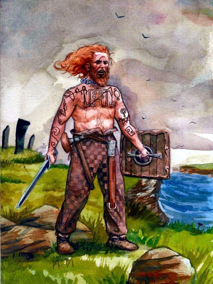 Pictish warrior