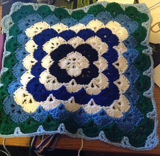Shells Of Love Crochet Baby Blanket Pattern : Blankets, Shells and Crochet blankets on Pinterest