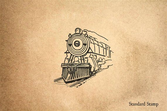 Freight Train Rubber Stamp. Freight Train Rubber Stamp w/ Acrylic Handle Stamp Size: 2 x 2 inches Materials: Polymer + Clear Acrylic Handle 100% Made in the USA Thank you for choosing Standard Stamp! We make some of our favorite designs to sell at a reduced rate, like this one! We call these our Stock Stamps. Because these stock stamps are made in large batches, we can price these lower than our personalized Custom Stamps. Visit our Pinterest boards at pinterest.com/standardstamp for lots…