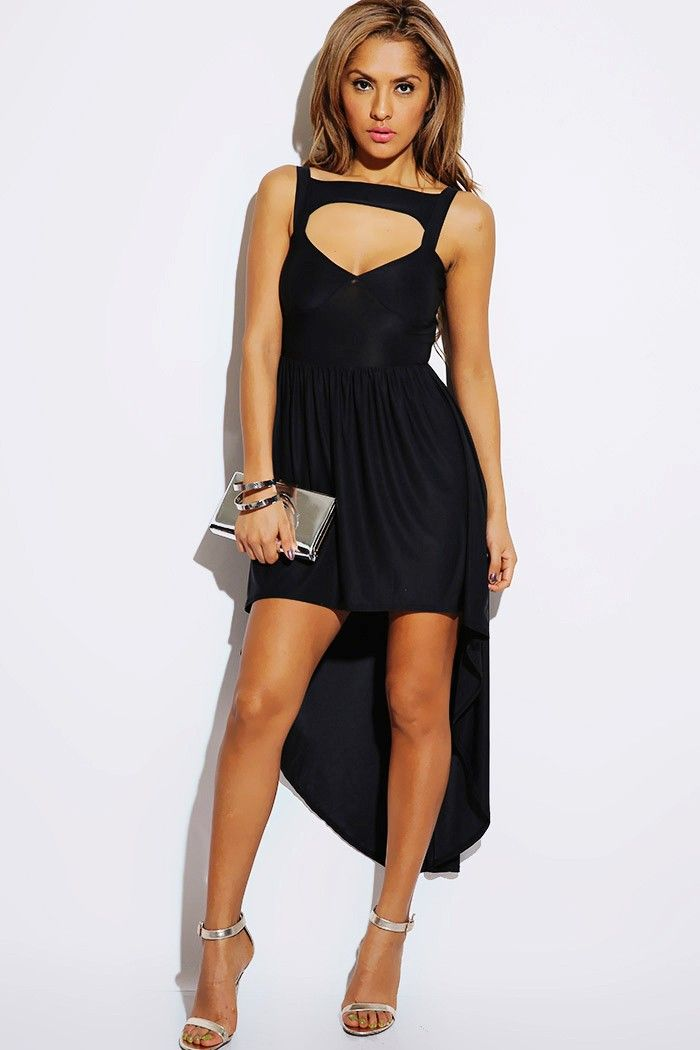 s26.postimg.org imagesize:700x1050 Pimpandhost )( #1015store.com #fashion #style black cut out sweetheart high low party dress
