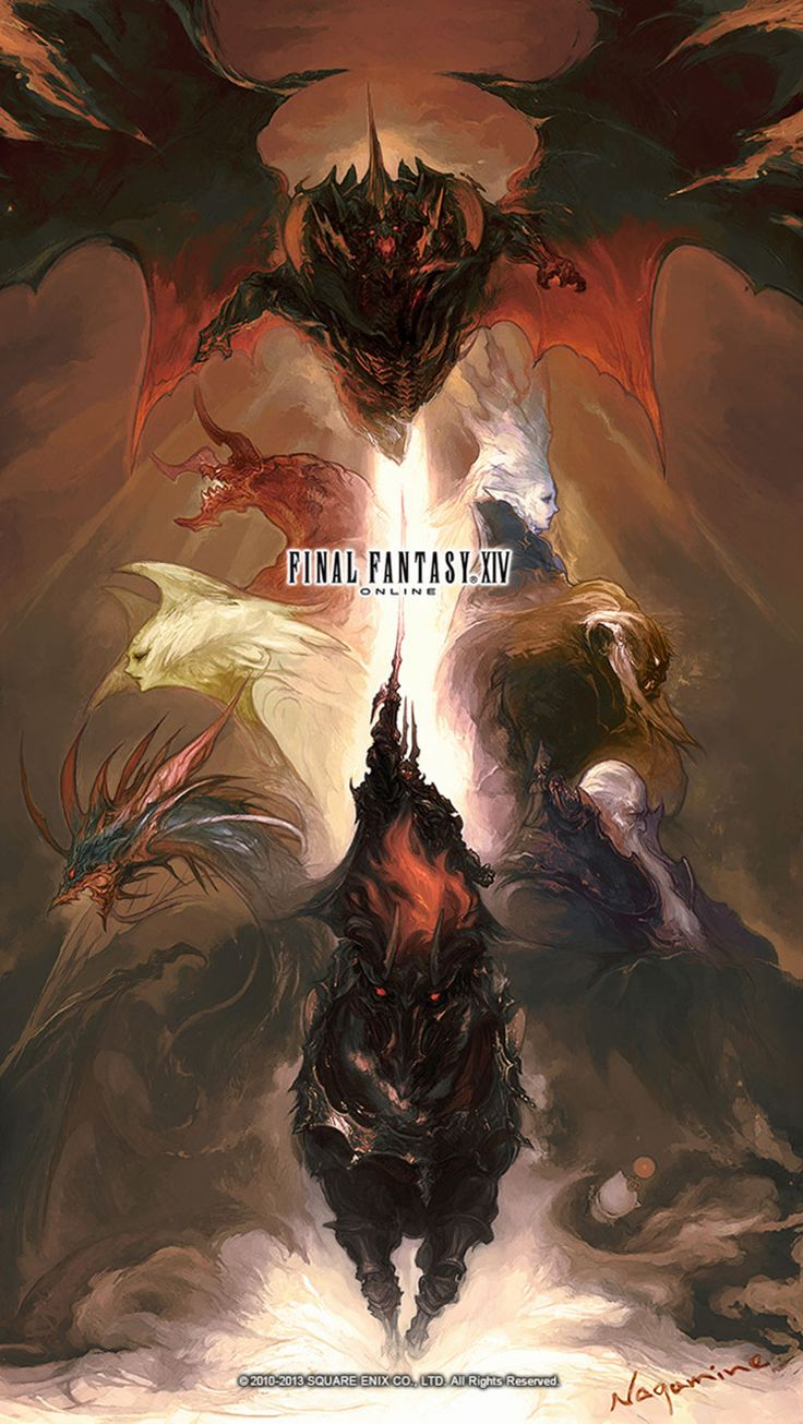 Primals Poster - Characters & Art - Final Fantasy XIV: A Realm Reborn