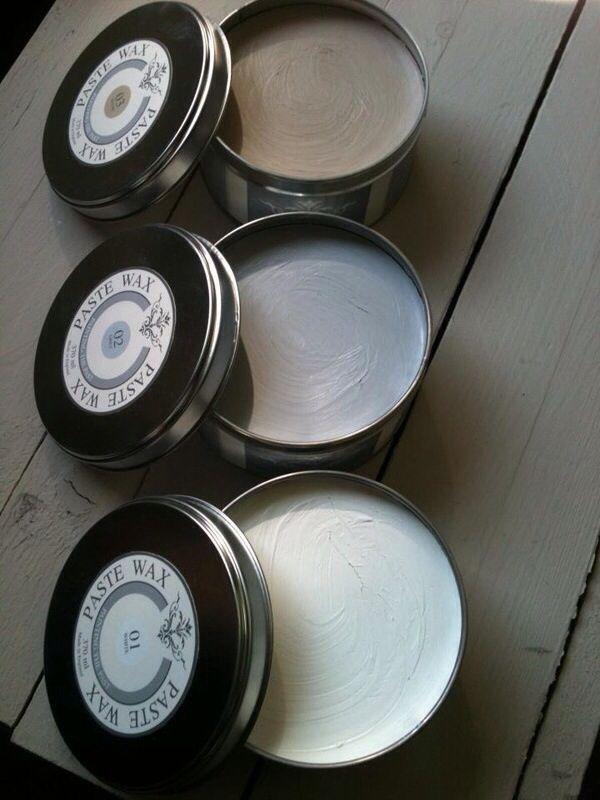 Paste wax! Ideaal voor een snel en mooi resultaat!