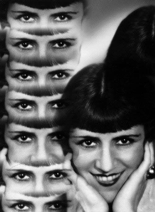Rössler, Jaroslav: Untitled (Multiple Exposure of a Woman)