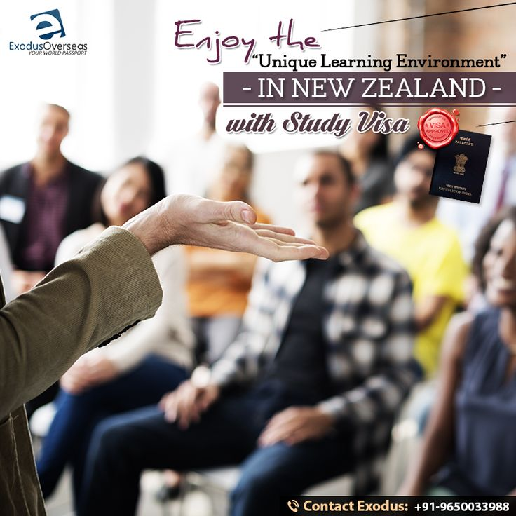New Zealand is a beautiful and unique country in the South Pacific.Universities, colleges and other educational institutions in New Zealand offer students a unique learning environment. Study in New Zealand and enjoy the international student life  with Study Visa.Contact Mr. Pankaj Malhotra (Ex-Visa Officer) Ph: +91-9650033988  #StudyVisa