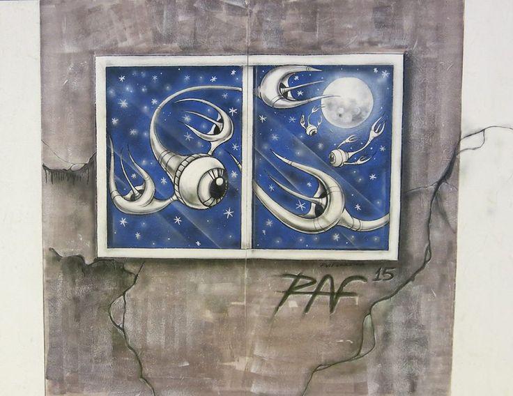 Trabalho Urban-Art by RAF