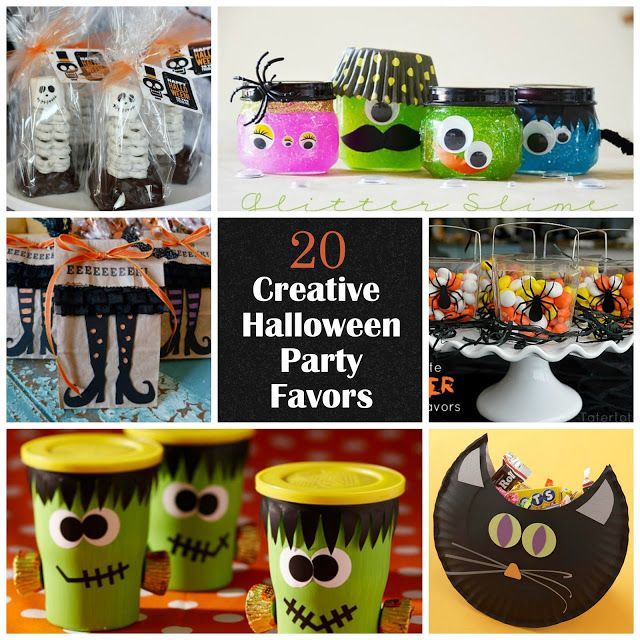 20 Creative Halloween Party Favors