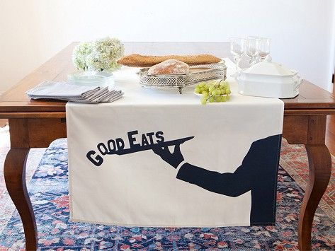 Tin Parade Table Banners - They are reusable year after year and are the perfect way to decorate for a special occasion.