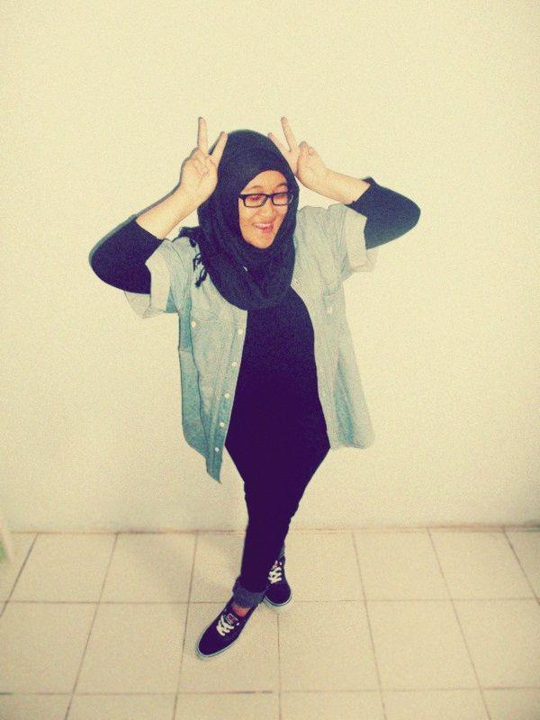 casual hijab ;)