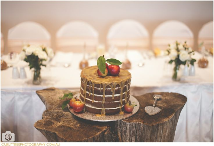 Chapel Hill Retreat Wedding Photos – Snow White apple wedding cake .  glazed red apples.