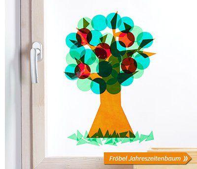Fröbel Jahreszeitenbaum