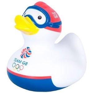 ロンドンオリンピック公式グッズ【TEAM GB ラバーダック/水泳】並行輸入品