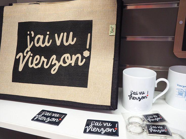 """Gamme de produits """"J'ai vu Vierzon"""" ©Ad2T N. Boccanfuso"""